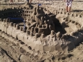 The biggest castle on the beach!